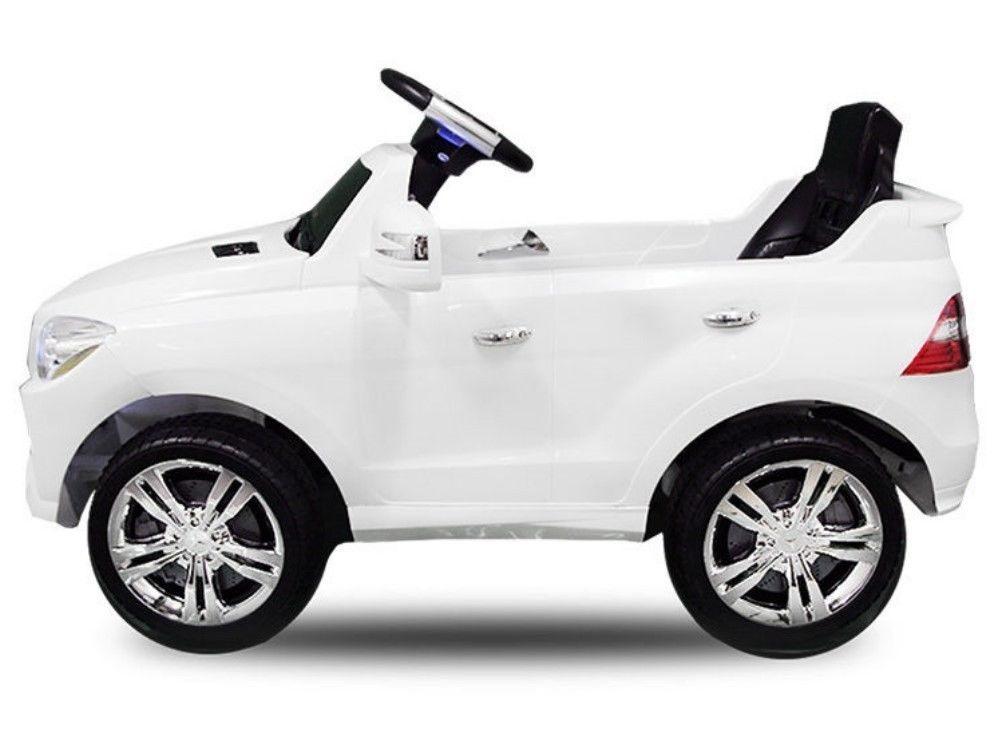 trendmax24 kinder elektrofahrzeug mercedes benz ml350 wei. Black Bedroom Furniture Sets. Home Design Ideas