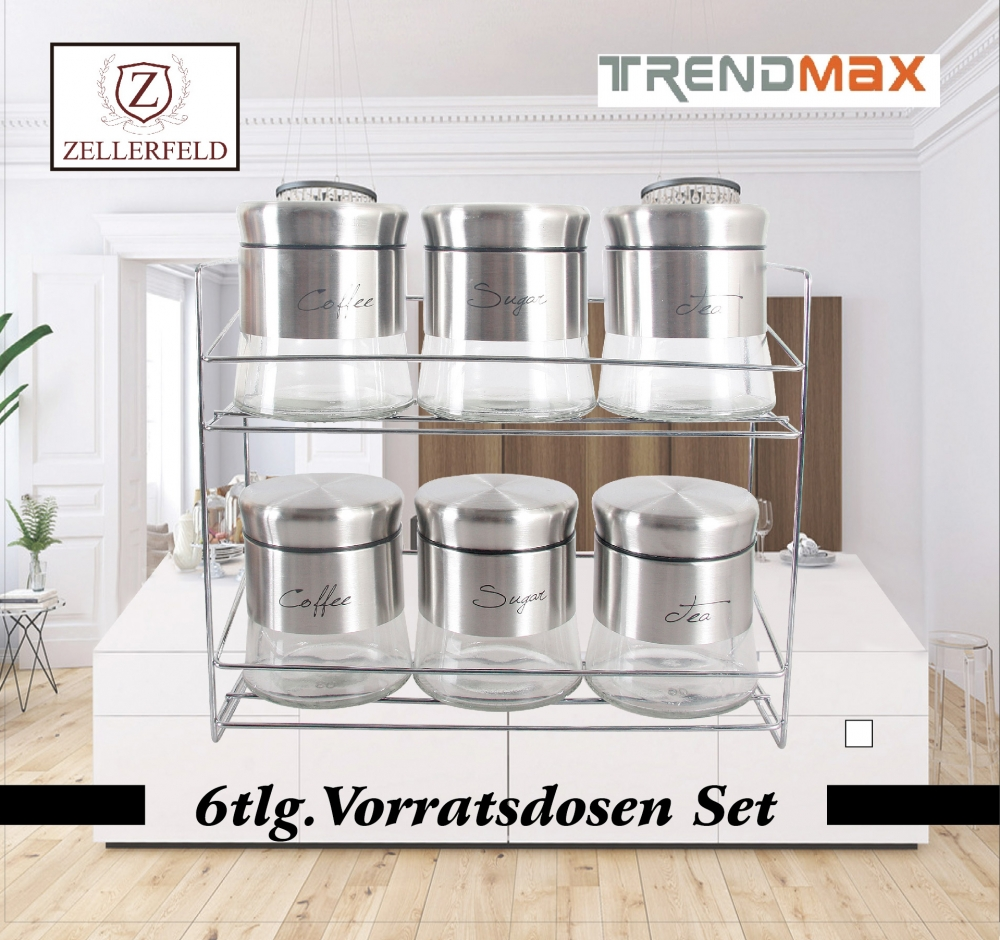 6 tlg Vorratsdosen Set