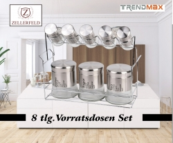 8 tlg Vorratsdosen Set